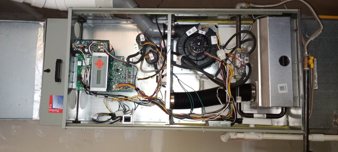 Willits, CA - Maintenance on Trane furnace