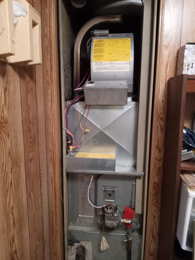 Willits, CA - Maintenance on Coleman furnace