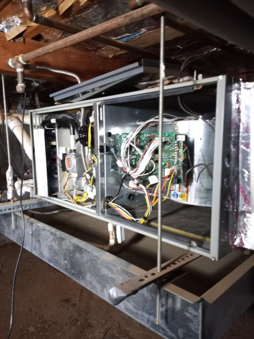 Redwood Valley, CA - Maintenance on furnace American Standard