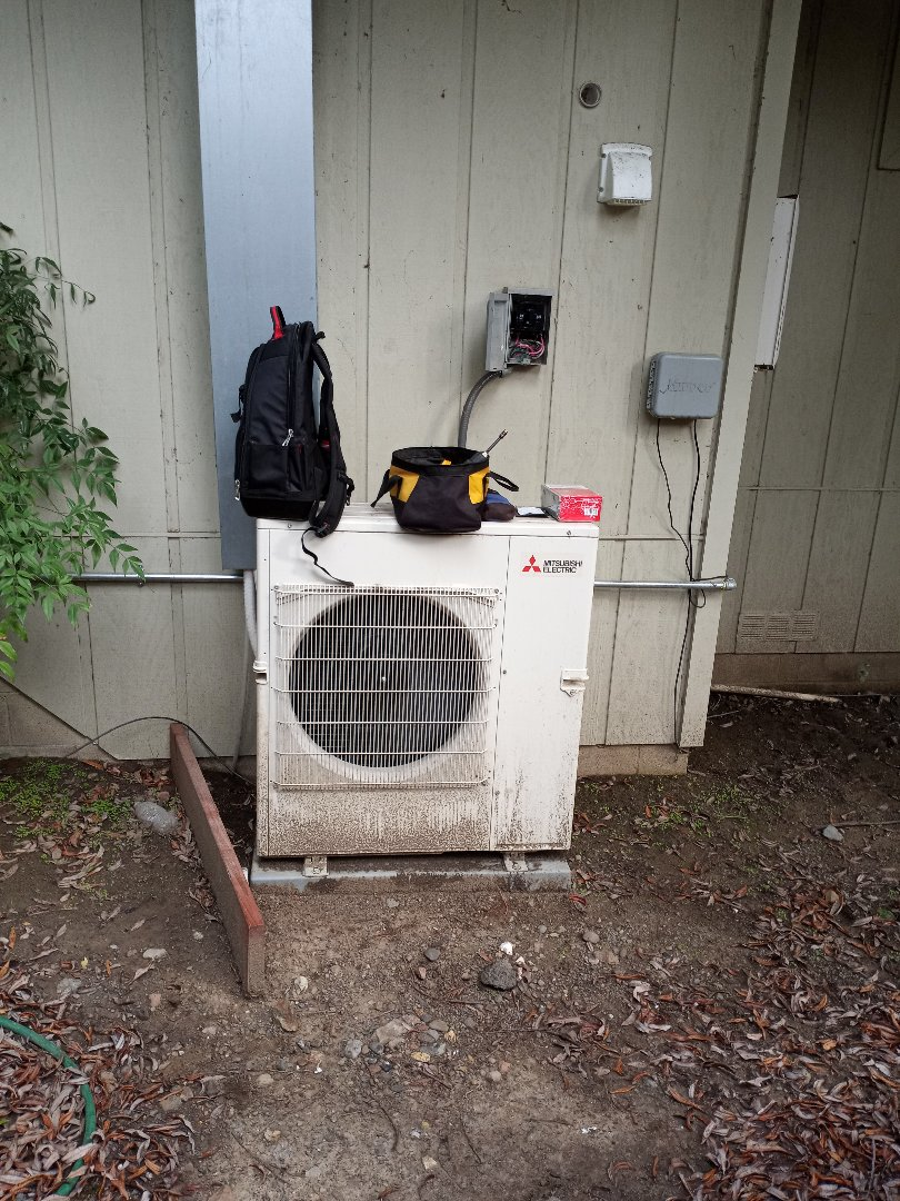 Ukiah, CA - Replacing disconnect on Mitsubishi ductless system