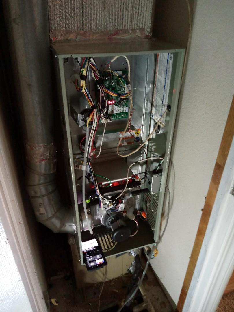 Ukiah, CA - Putting in a new furnace California