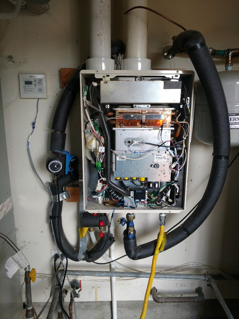 Philo, CA - Noritz on demand water heater repair
