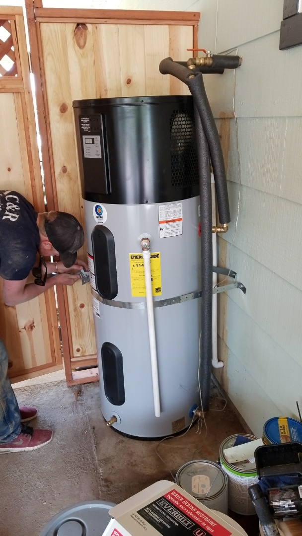 Kelseyville, CA - Install heat pump water heater