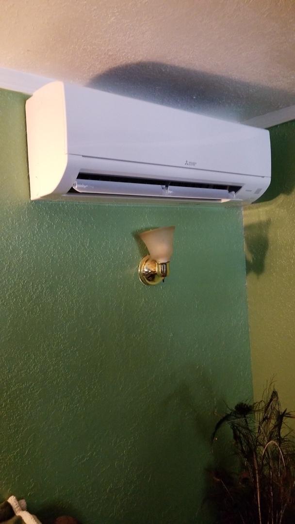 Ukiah, CA - Install minisplit