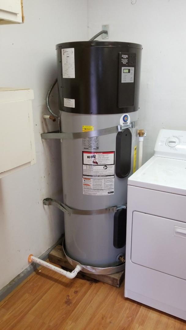 Lakeport, CA - Install heat pump water heater