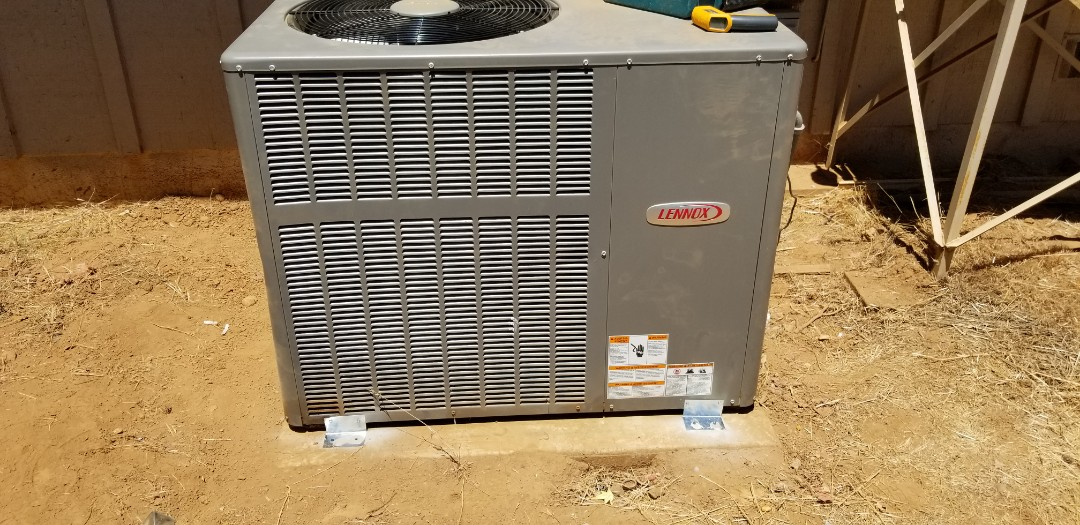 Lakeport, CA - Install package unit heat pump and duct work