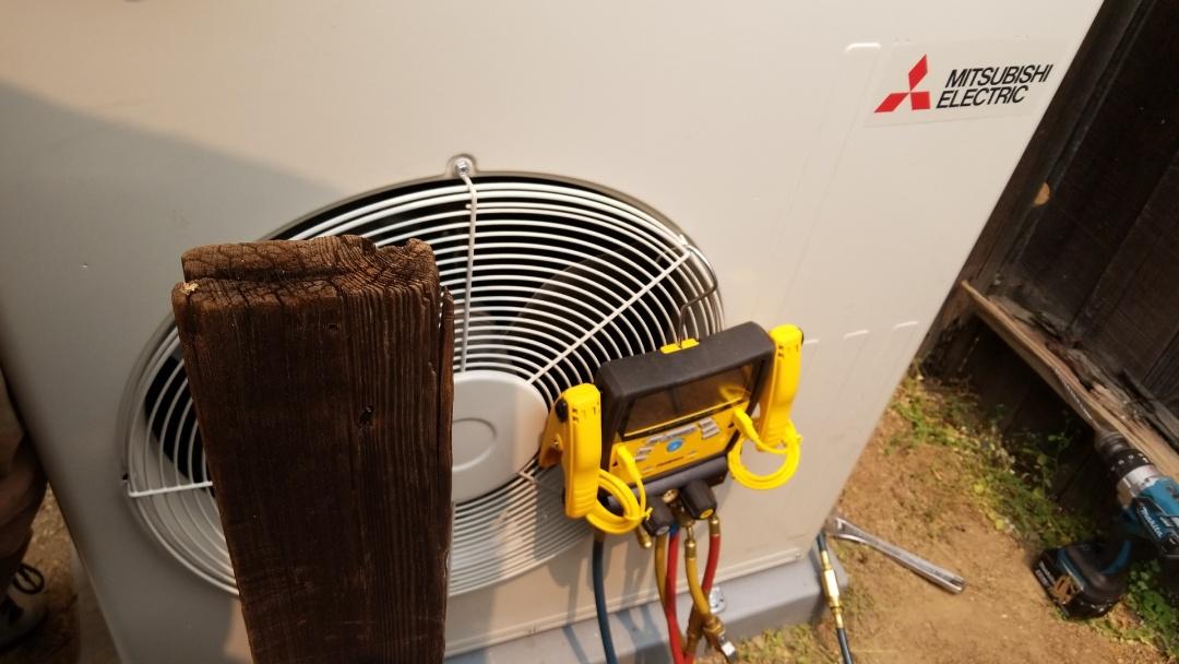 Ukiah, CA - install minisplit system