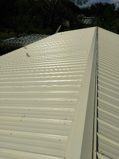 Dover, FL - Union Master Rib Metal Roof