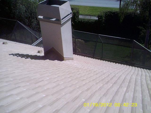 Palm Harbor, FL - Eagle Malibu Tile Color: Boca Cream