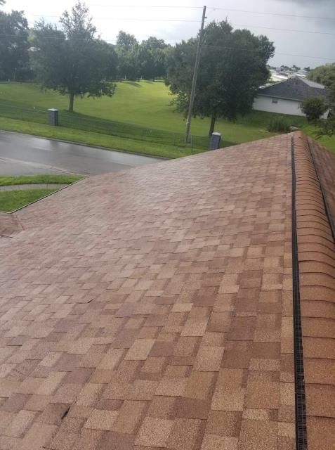 Zephyrhills, FL - Shingle: OC Duration Warranty:Preferred Protection Color:Desert Tan Drip:Tan Reroof Residential