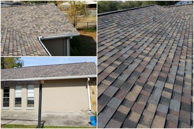 Tampa, FL - We just finished this beautiful roof using Owens Corning Color Duration in Summer Harvest.