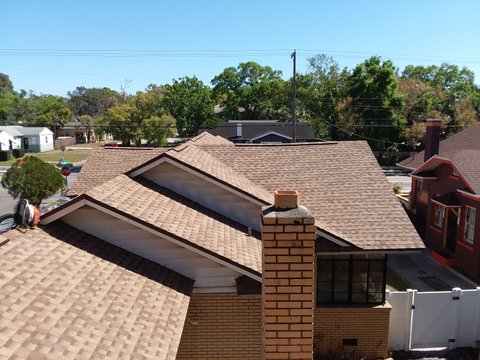 Tampa, FL - GAF Timberline HD in the color Shakewood