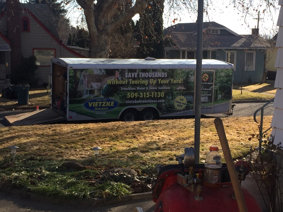 Yakima, WA - Cipp liner install