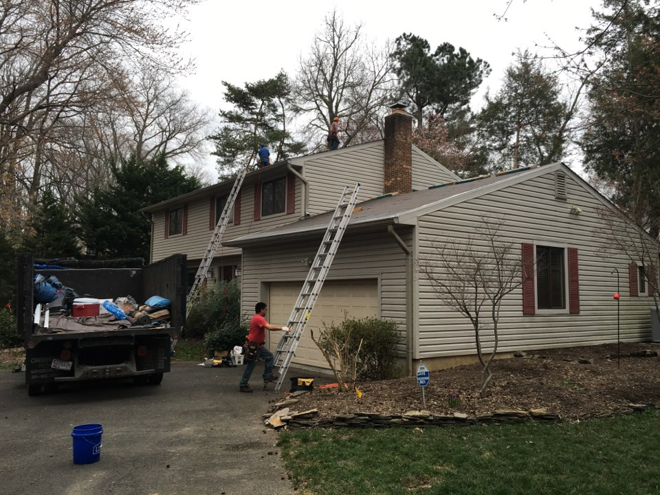 Alexandria, VA - NEW ROOFING Project Certainteed Lifetime shingles, color Moire Black