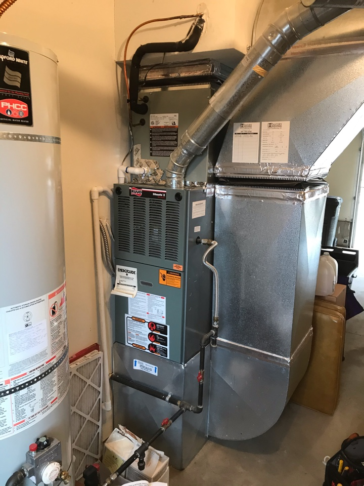 Philomath, OR - Precision tune up on a Ruud Gas Furnace and Trane Air Conditioner