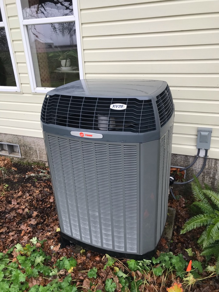 Jefferson, OR - Precision tune up on a Trane Heat Pump system