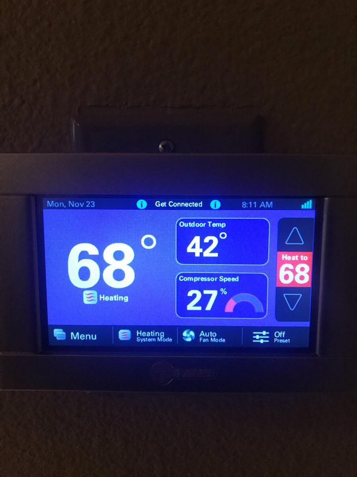 Sweet Home, OR - Trane thermostat
