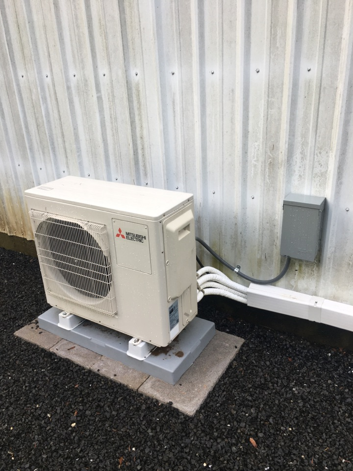 Blodgett, OR - Mitsubishi ductless heat pump