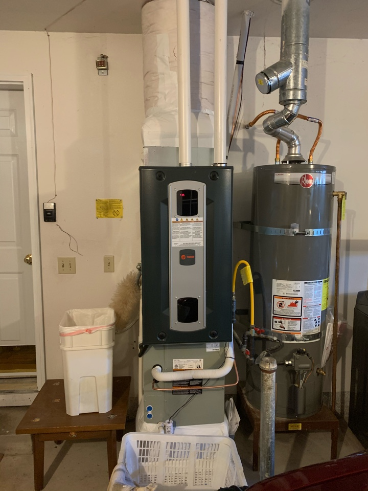 Tangent, OR - New furnace install with air scrubber