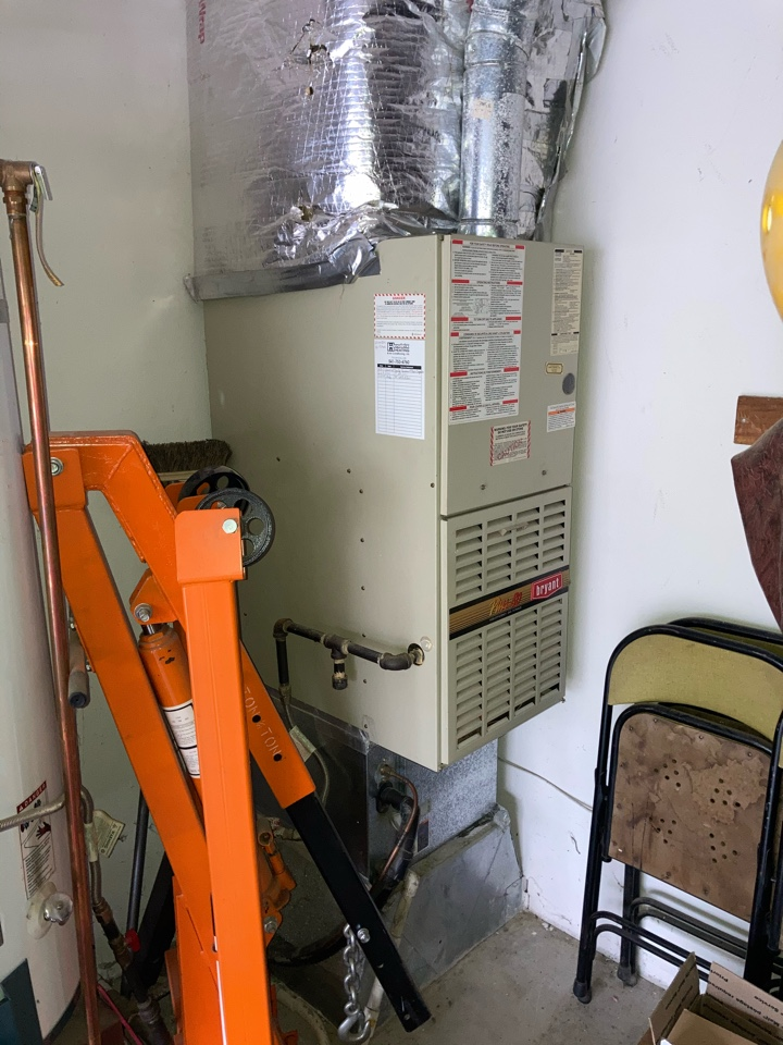 Albany, OR - Bryant furnace maintenance tuneup