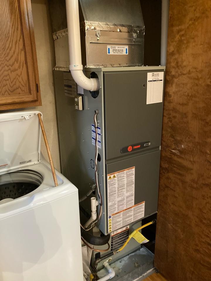 Albany, OR - Trane furnace maintenance tuneup