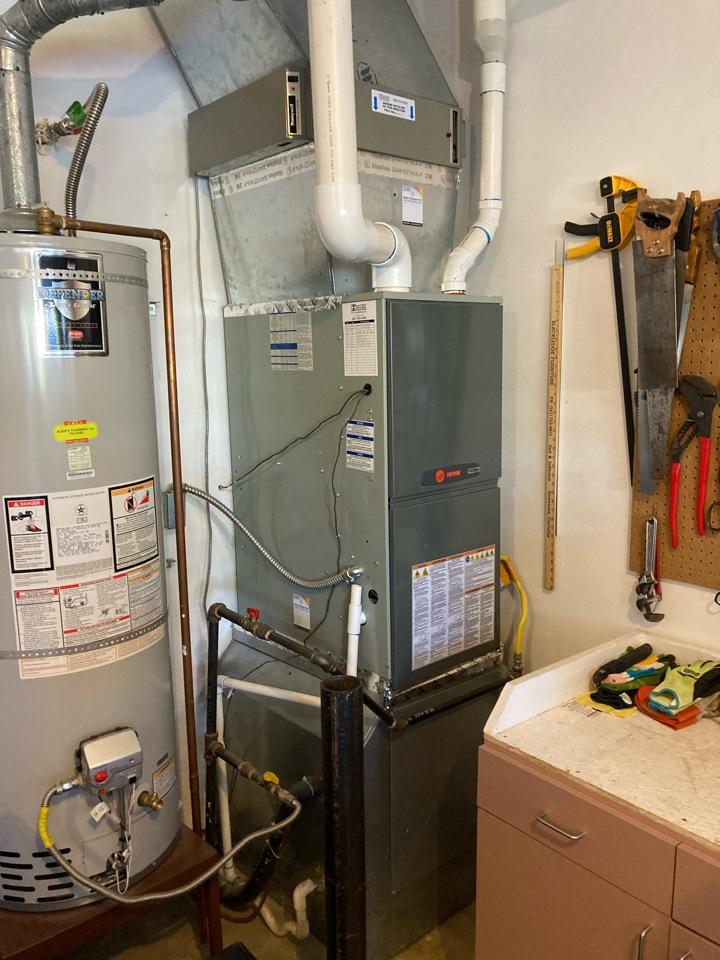 Corvallis, OR - Trane furnace maintenance tuneup