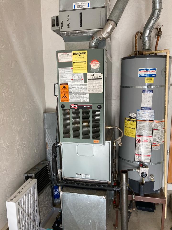 Corvallis, OR - Rheem furnace maintenance tuneup