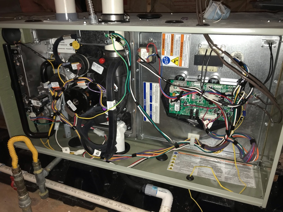 Lincoln City, OR - Trane gas furnace