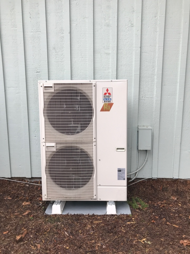 Keizer, OR - Maintenance on a Mitsubishi heat pump system