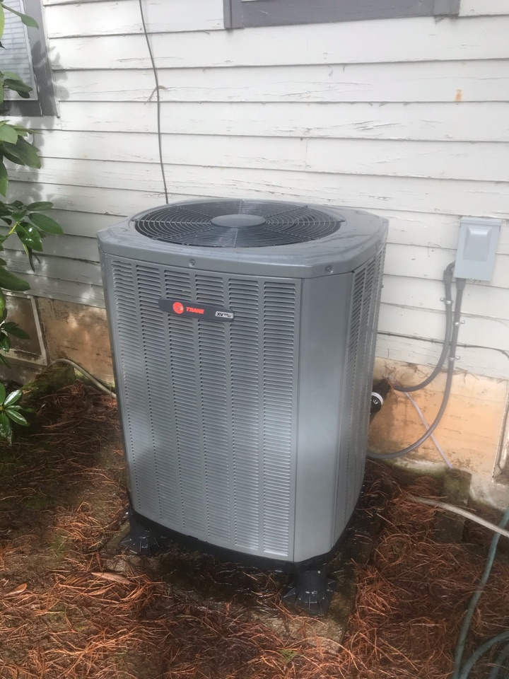 Monroe, OR - Precision tune up on a Trane Heat Pump system