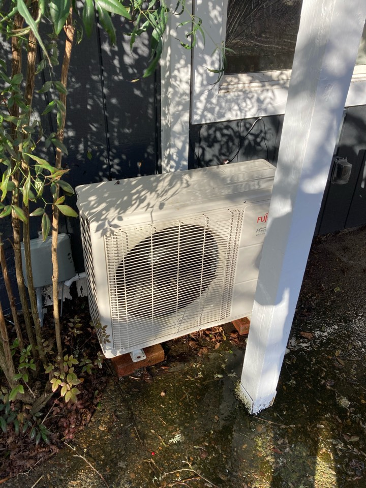 Corvallis, OR - Fujitsu ductless heat pump maintenance tuneup