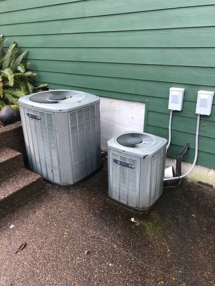 Philomath, OR - Precision tune up on 2 Trane Gas Furnace and Air Conditioner systems