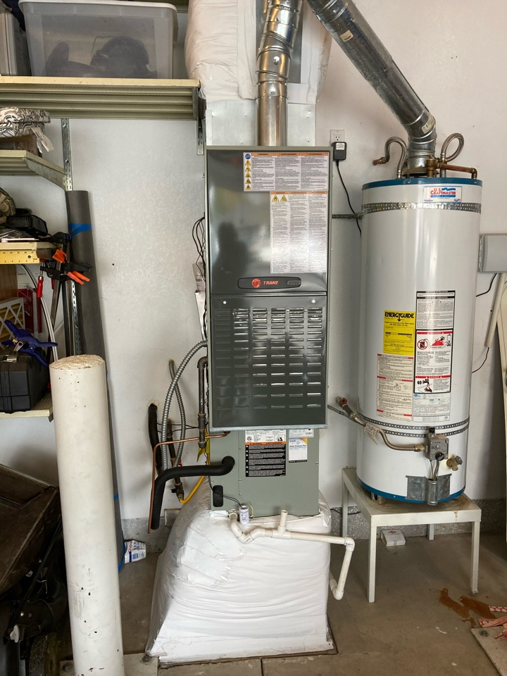 Creswell, OR - Trane furnace maintenance tuneup