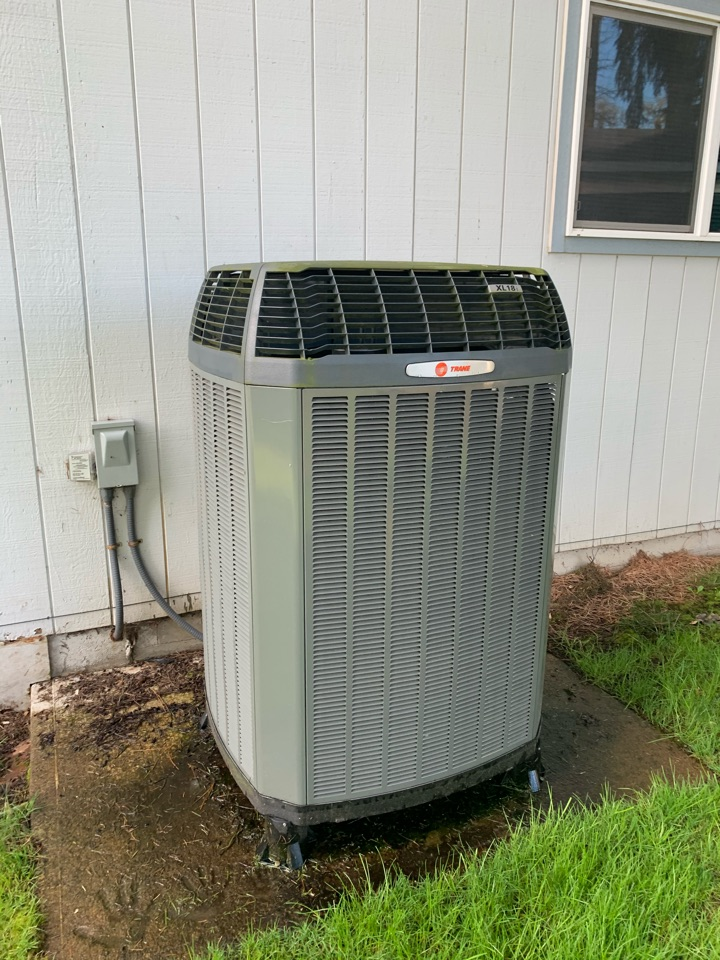 Junction City, OR - Trane Heat Pump System tune-up