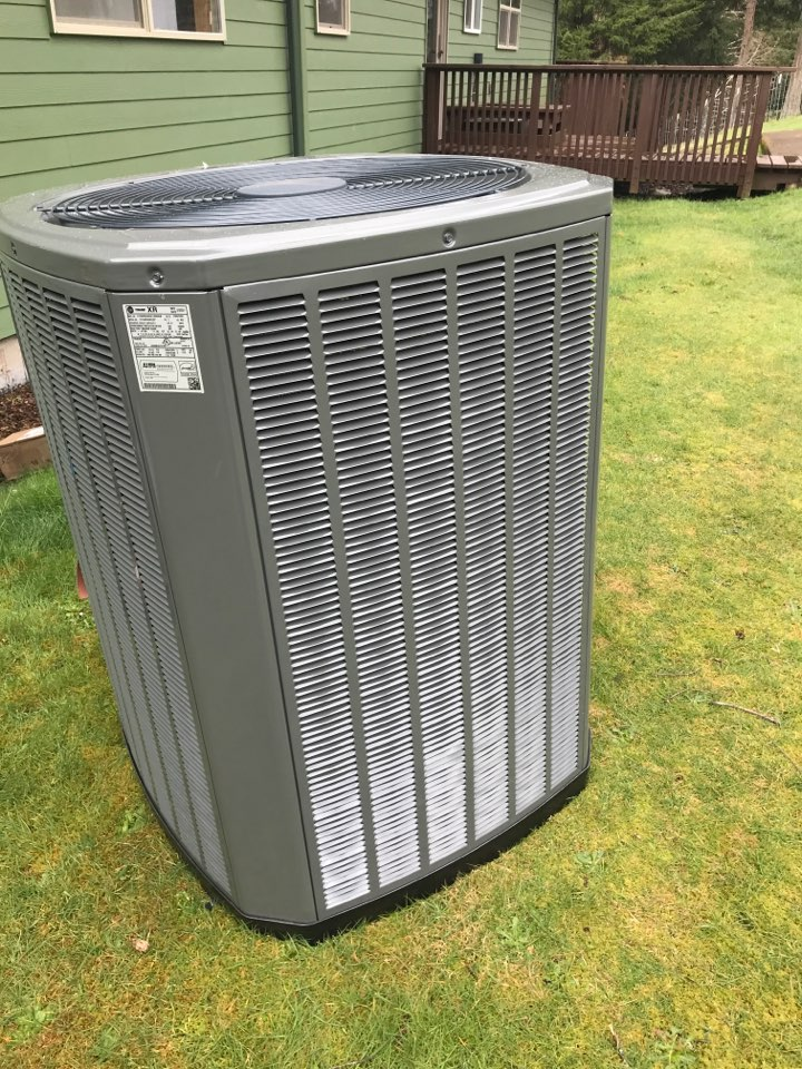 Toledo, OR - Installing new air handler and heat pump
