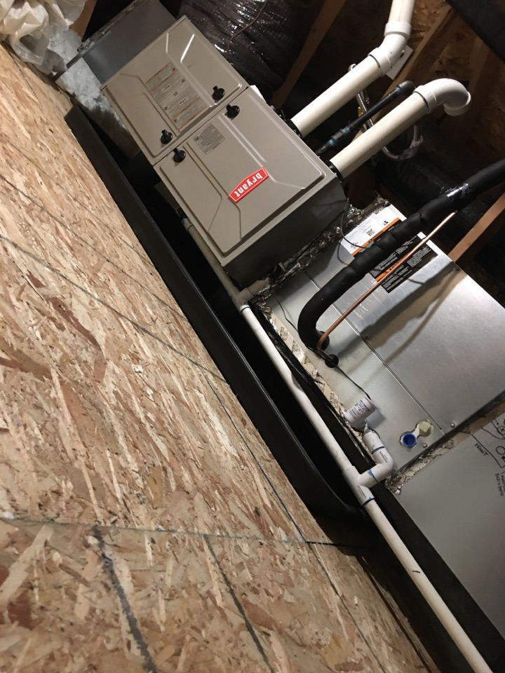 Adair Village, OR - Trane air conditioner install