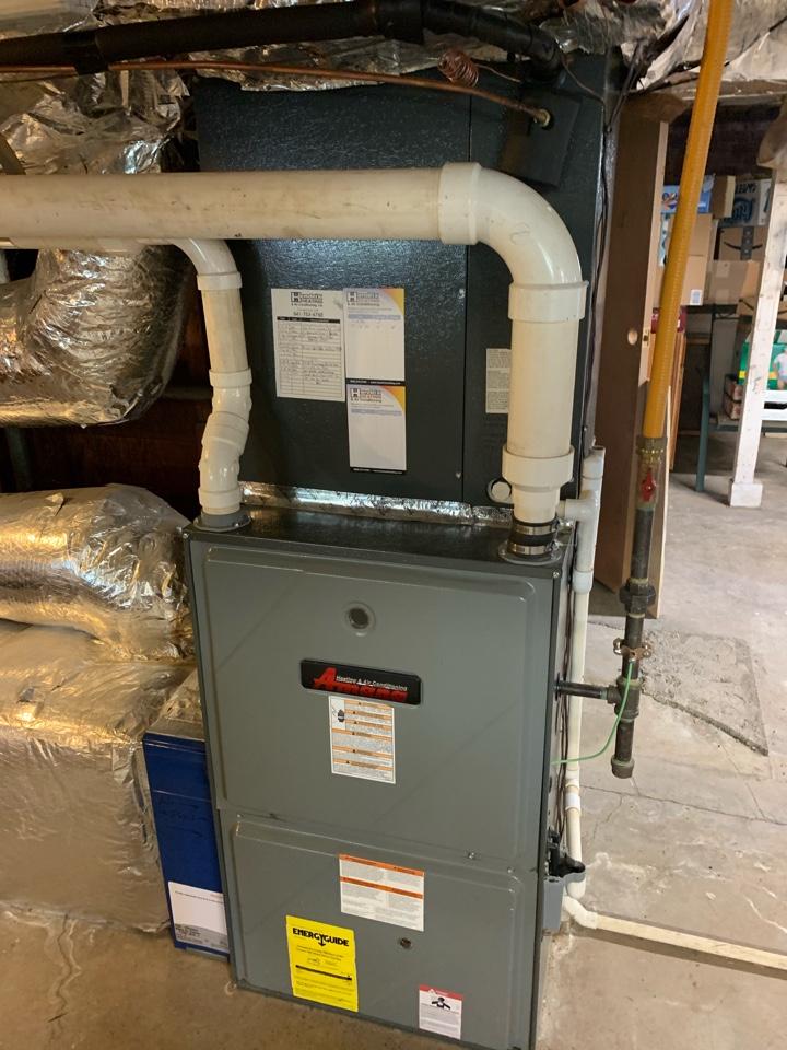 Albany, OR - Amana gas furnace