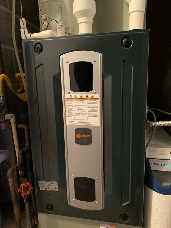 Corvallis, OR - Trane gas furnace maintenance
