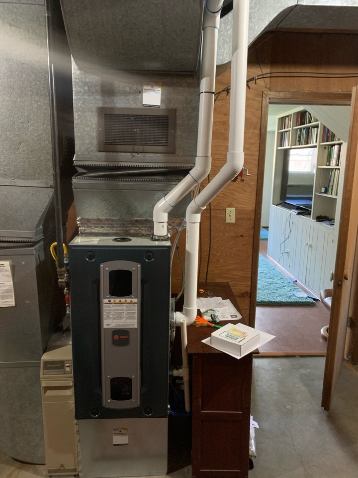 Corvallis, OR - New furnace install