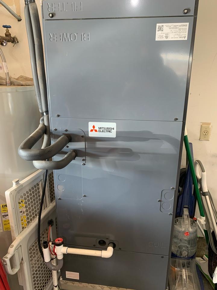 Springfield, OR - Mitsubishi air handler maintenance