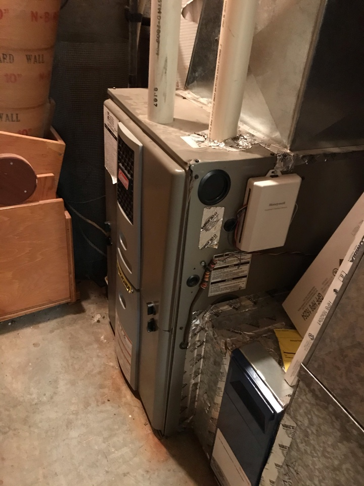Corvallis, OR - Maintenance on a Coleman gas furnace