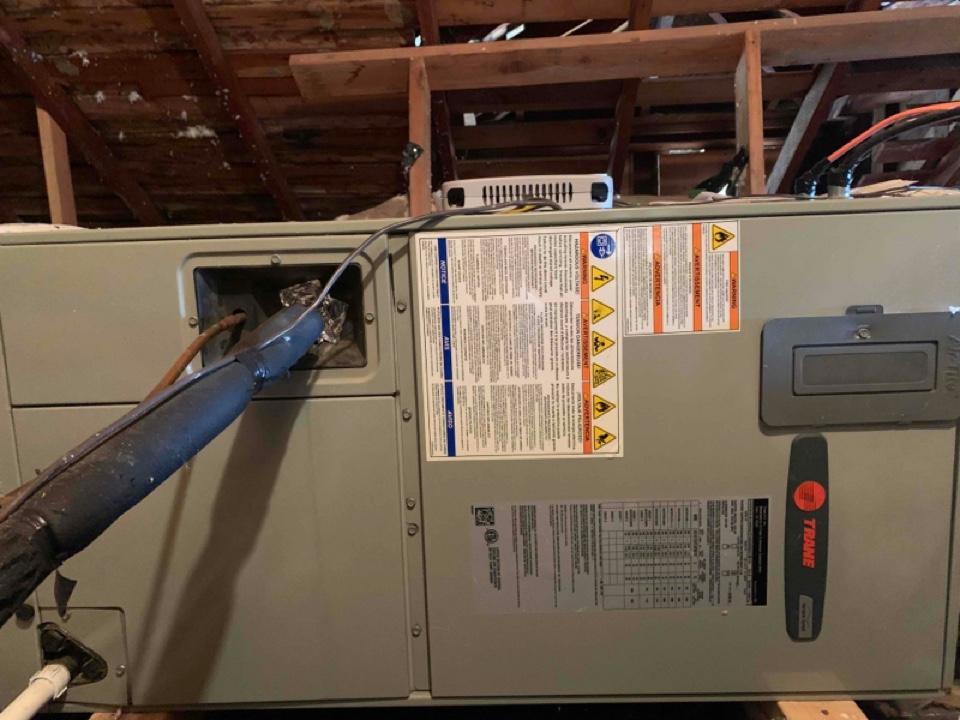 Monroe, OR - Trane air handler maintenance tuneup