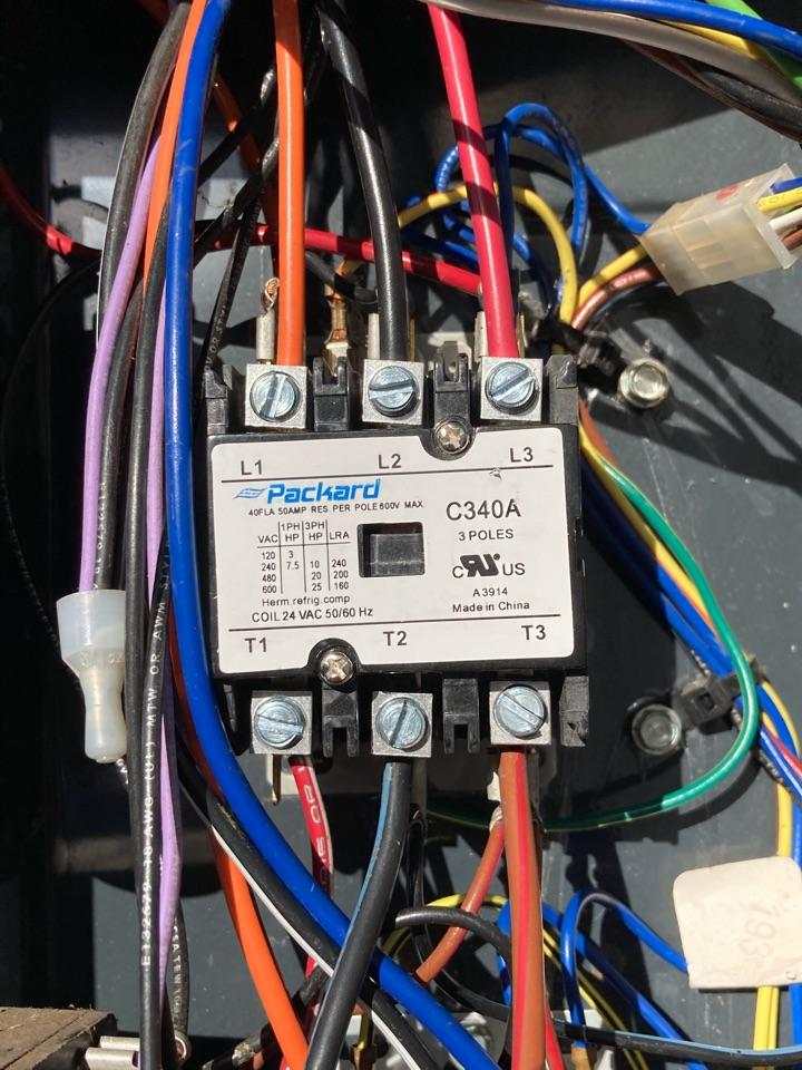 Monroe, OR - Repair on Trane heat pump system.