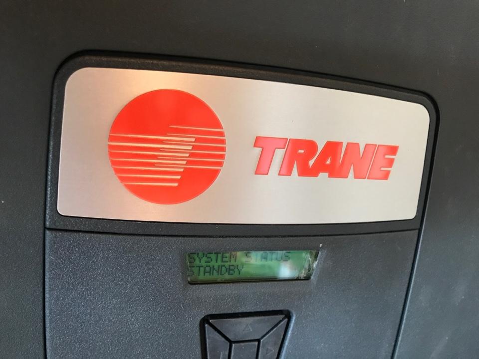 Philomath, OR - Trane heat pump and air handler installation.