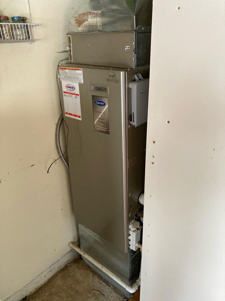 Halsey, OR - Carrier furnace maintenance tuneup