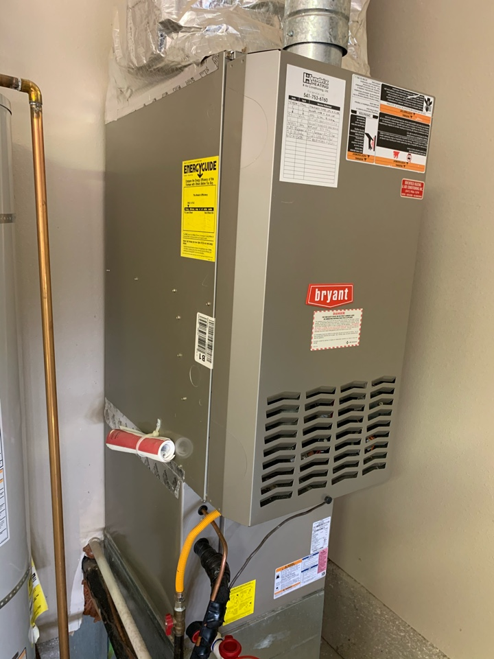 Albany, OR - Bryant gas furnace maintenance