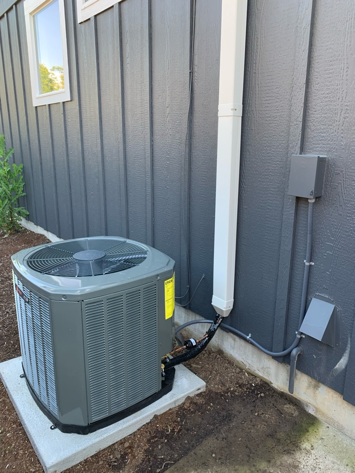Albany, OR - New AC installed