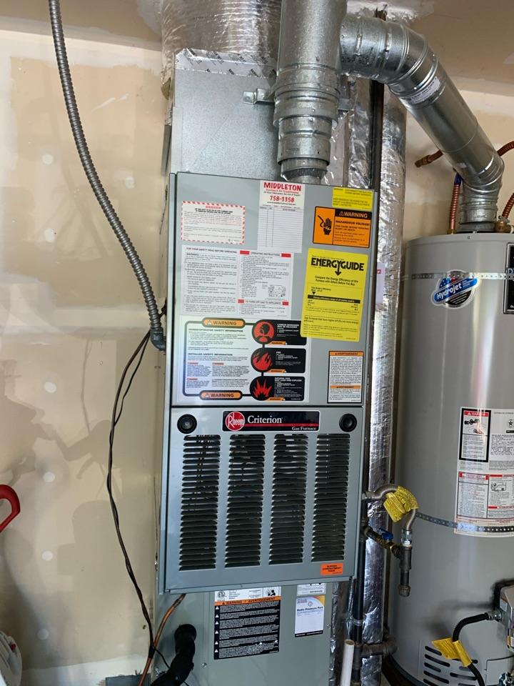 Corvallis, OR - Rheem gas furnace maintenance