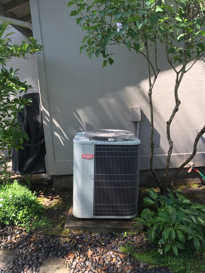 Corvallis, OR - Maintenance on a Trane gas furnace & Bryant air conditioning system