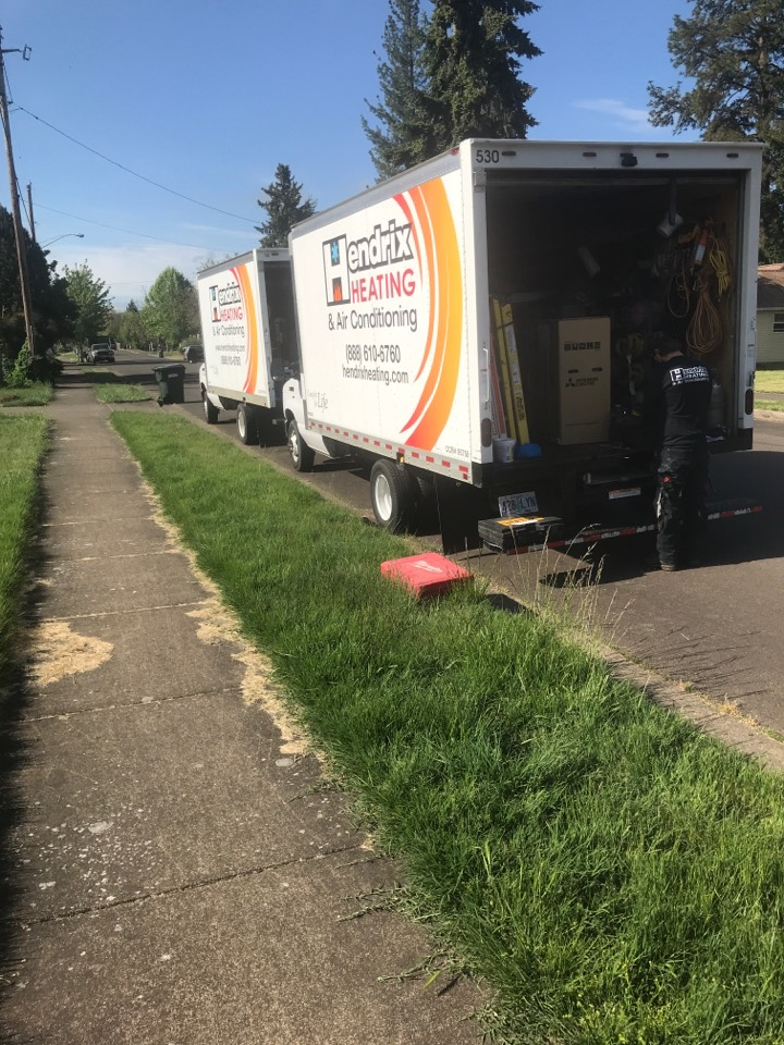 Brownsville, OR - Installing Mitsubishi ductless heat pump